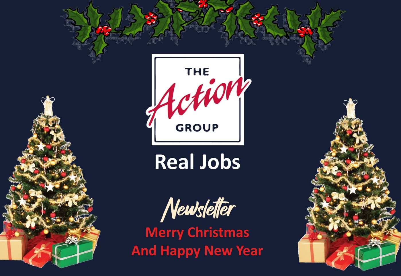 Real Jobs Newsletter cover page